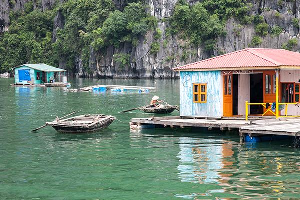 La aldea flotante