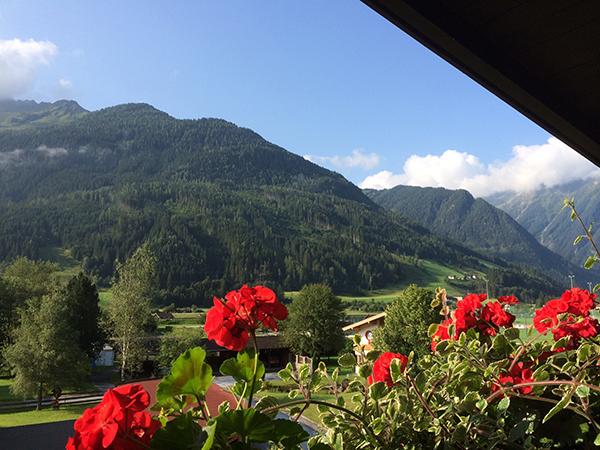 Las vistas desde nuestra terraza