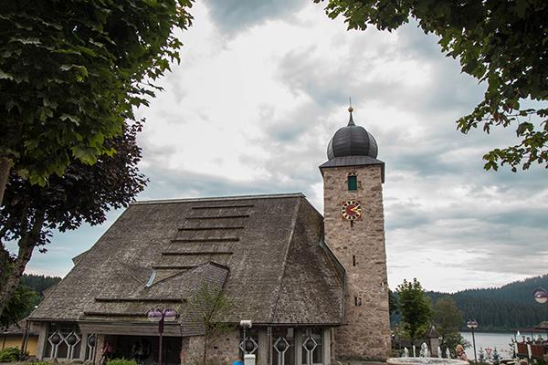 El centro de Schluchsee era bastante molón