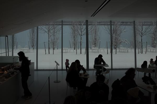 La cafetería del museo mola bastante