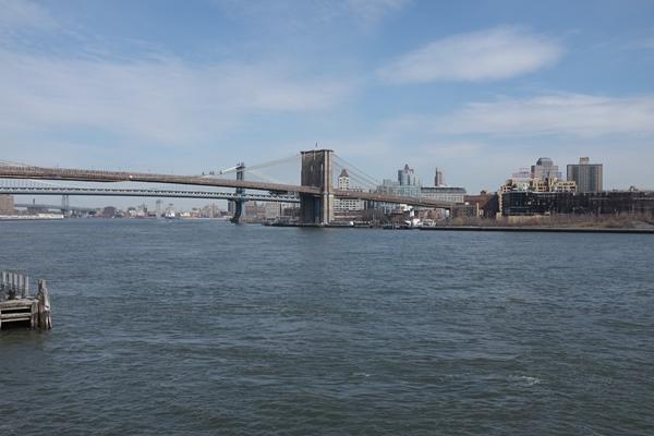 El puente de Brooklyn y el de Manhattan, juntos por fin!